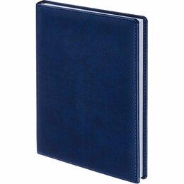 Стеллажи и этажерки - Ежедневник недат. А5 352 стр., Attache мягкая кожа синий арт. 61154 /30/, 0