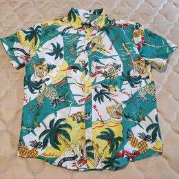Рубашки - Новая модная летняя мужская рубашка 52-54 размер, 0