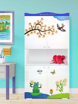 Шкафы, стенки, гарнитуры - Шкаф в детскую для книг, игрушек и прочих вещей, 0