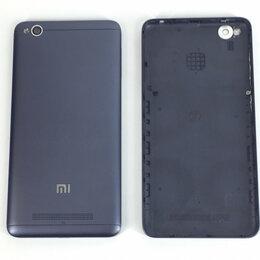 Корпусные детали - Задняя крышка для Xiaomi Redmi 4A черная, 0