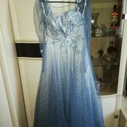Платья - Вечернее платье в пол + туфли, 0