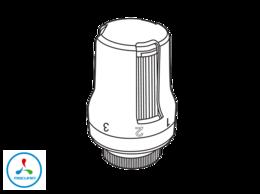 Радиаторы - Термоголовка  жидкостная, M30 x 1,5, 0