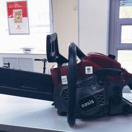 Электро- и бензопилы цепные - Бензиновая пила Oasis GS-16, 0