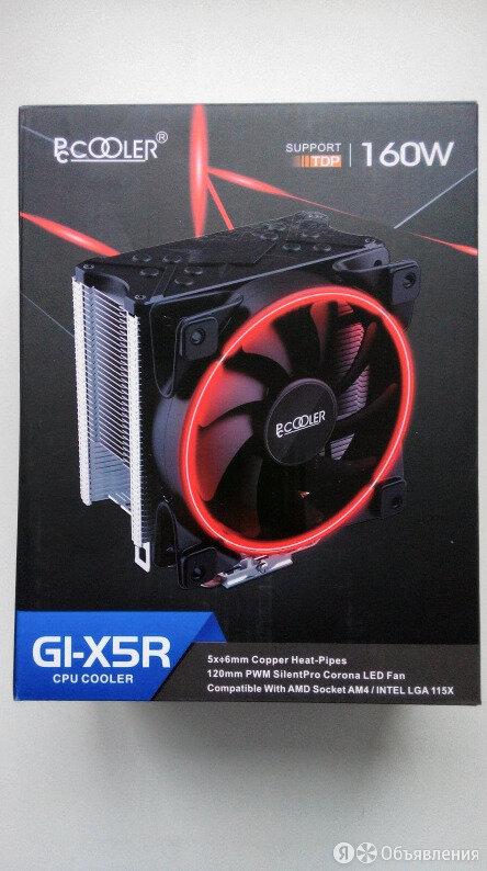 Кулер для процессора PCCooler GI-X5R RED по цене 1500₽ - Кулеры и системы охлаждения, фото 0