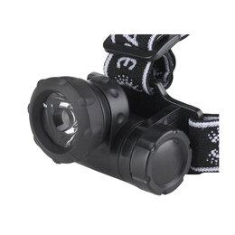 Фонари - Фонарь налобный Эра G1W 1В LED, коллиматор, 3хААА (не в комплекте), 0