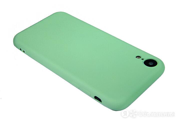 Чехол-накладка для iPhone XR SOFT TOUCH TPU зеленый  по цене 225₽ - Чехлы, фото 0