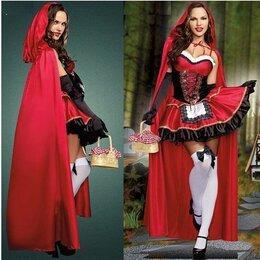 Карнавальные и театральные костюмы - красивейший  костюм красной шапочки новый 40-44 размер, 0