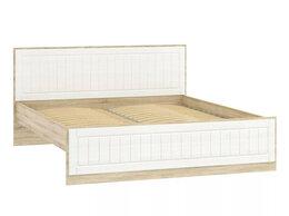 Кровати - Кровать НМ 040.34-03 Оливия Дуб Сонома/белое…, 0