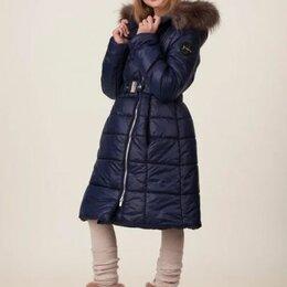 """Пальто - Пальто зимнее для девочки """"Адэлина"""", цвет синий, арт. 05105-1, размер 38-140, 0"""