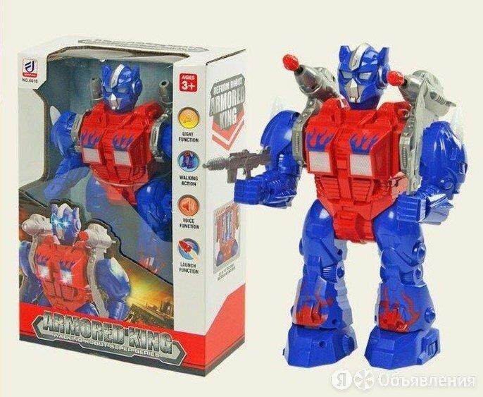 Робот «Стрелок», свет, звук, раб. от бат. по цене 1050₽ - Роботы и трансформеры, фото 0