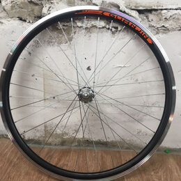 Обода и велосипедные колёса в сборе - Колесо 26д заднее, 0
