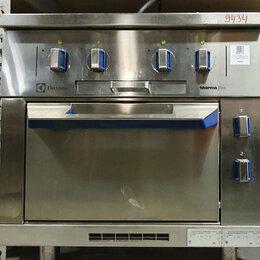 Промышленные плиты - Плита 4-конф. спл. пов. Electrolux MBLCBBHOAO с дух. MB8ACAHOAO (009434), 0