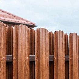 Заборы, ворота и элементы - Штакетник трапеция, 0