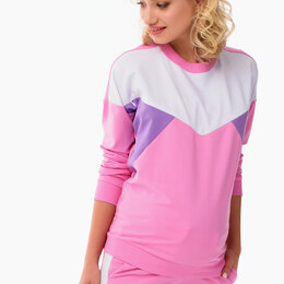 Свитеры и кардиганы - Спортивный розовый свитер для беременных, 0