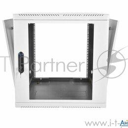 Прочее сетевое оборудование - Шкаф телекоммуникационный настенный разборный 15u  600х520  дверь стекло, 0