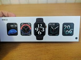 Умные часы и браслеты - Smart watch hw22 44mm, 0