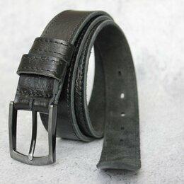 Ремни, пояса и подтяжки - Ремень мужской из качественной Итальянской кожи, 0