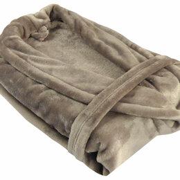 Домашняя одежда - Мужской халат - Халат из микрофибры мужской кофе Бельвита, 0