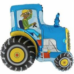 Модели - Трактор, синий, 0