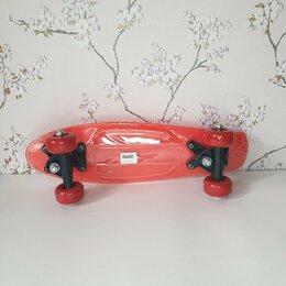 Скейтборды и лонгборды - Пениборд(красный), 0