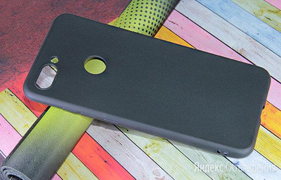 Чехол-накладка для XIAOMI Mi8 Lite FASHION TPU матовый черный по цене 195₽ - Чехлы, фото 0
