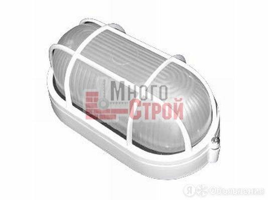 Светильник НПП 1402 белый овал с решеткой 60Вт IP54 IEK по цене 390₽ - Встраиваемые светильники, фото 0