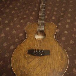 Акустические и классические гитары - 12 струнная гитара фабрики им. А. В. Луначарского, 0