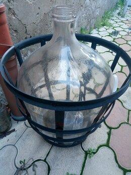 Ёмкости для хранения - Бутыль стеклянная на 50 литров, 0