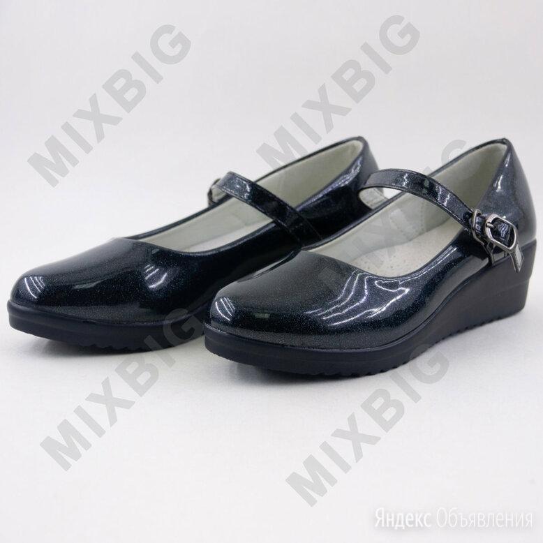 Туфли школьные Фантазия Е21-9 по цене 1499₽ - Балетки, туфли, фото 0