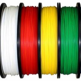 Расходные материалы для 3D печати - PETG и ABS пластик для 3D принтера, 0