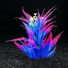 Растения для аквариумов и террариумов - Растение искусственное аквариумное, 29 х 25 х 23 см (комплект из 2 шт.), 0