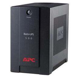 Источники бесперебойного питания, сетевые фильтры - Источник бесперебойного питания APC Back-UPS BX500CI, 3 розетки, 500 ВА, 300Вт, 0