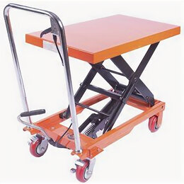 Грузоподъемное оборудование - Стол подъемный TOR WP-350, г/п 350 кг, 350-1300 мм, 0