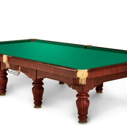 Столы - Бильярдный стол Барон II Ясень Камень 40 мм 8 фут, 0