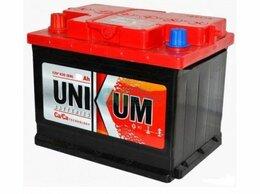 Аккумуляторы  - Аккумулятор УНИКУМ п.п. 6 СТ-60, 0
