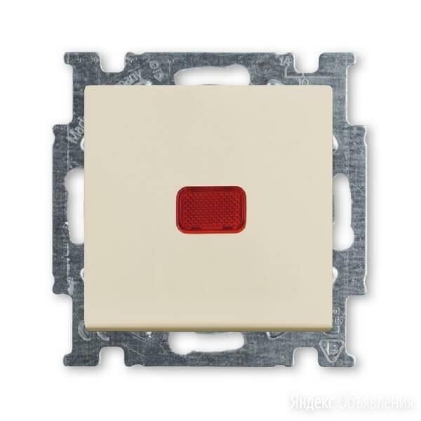 Переключатель одноклавишный ABB Basic55 10A 250V с подсветкой слоновая кос... по цене 1036₽ - Электроустановочные изделия, фото 0