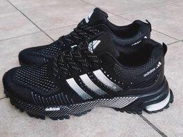 Кроссовки и кеды - Кроссовки Adidas Marathon мужские черные с белым…, 0