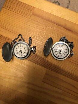 """Карманные часы - Часы карманные механические на цепочке """"Победа"""", 0"""