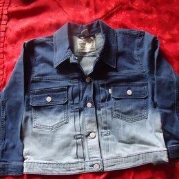 Пиджаки - Джинсовый пиджак женский разм L Levis Оригинал из Америки , 0