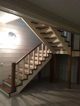 Лестницы и элементы лестниц - Лестница деревянная , 0