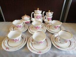 Сервизы и наборы - Красивый чайный редкий сервиз.лфз.21 предмет, 0