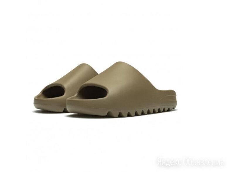 Тапочки Yeezy Slide Earth Brown по цене 4000₽ - Шлепанцы, фото 0