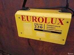 Сварочные аппараты - Инвертор сварочный EUROLUX IWM220, 0