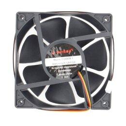 Кулеры и системы охлаждения - Вентилятор Gembird, 120x120x38, шариковый, 3 pin, , 0