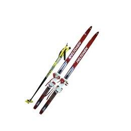 Беговые лыжи - Лыжный комплект с комбинированным креплением 090…, 0