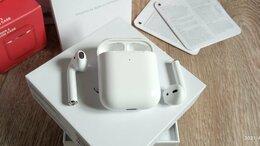 Наушники и Bluetooth-гарнитуры - Airpods 2 Точная копия 1:1, 0