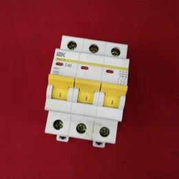 Защитная автоматика - Автоматический выключатель IEK ва 47-29 3P, 0