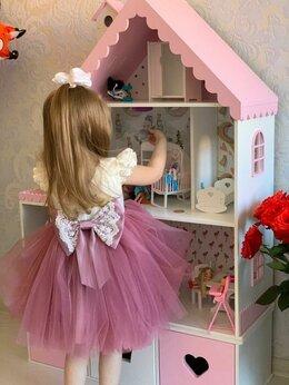 Хранение игрушек - Кукольный домик Полка Стеллаж с ящиками новый…, 0
