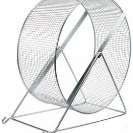 Игрушки и декор  - N 1 Колесо для грызунов 35 см диаметр, (сетка), металлическое, 0
