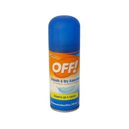 Средства от насекомых - OFF! Аэрозоль SMOOTH Dry от комаров, 0